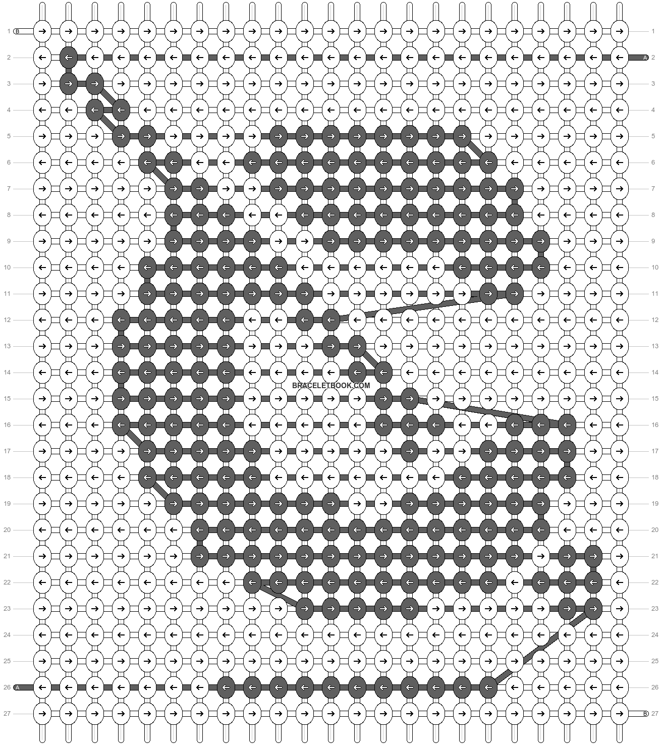 Alpha pattern #51366 pattern