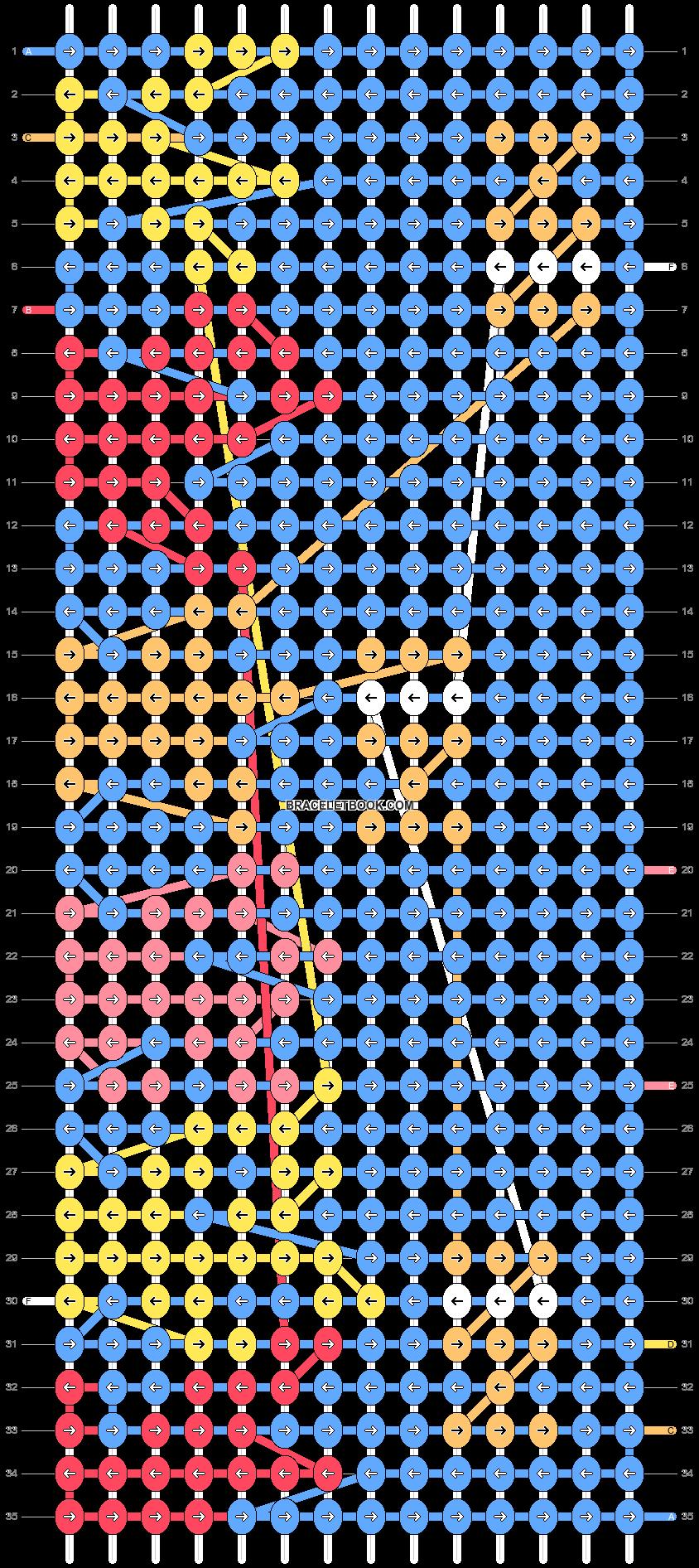 Alpha pattern #51372 pattern