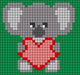 Alpha pattern #51378
