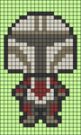 Alpha pattern #51381