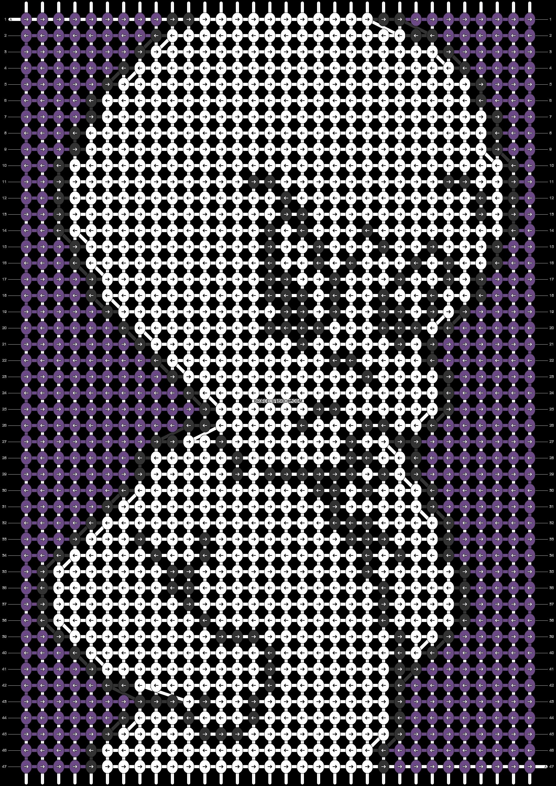 Alpha pattern #51384 pattern