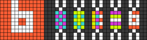 Alpha pattern #51387