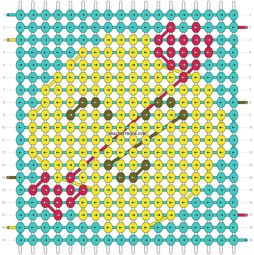 Alpha pattern #51394 pattern