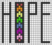 Alpha pattern #51400