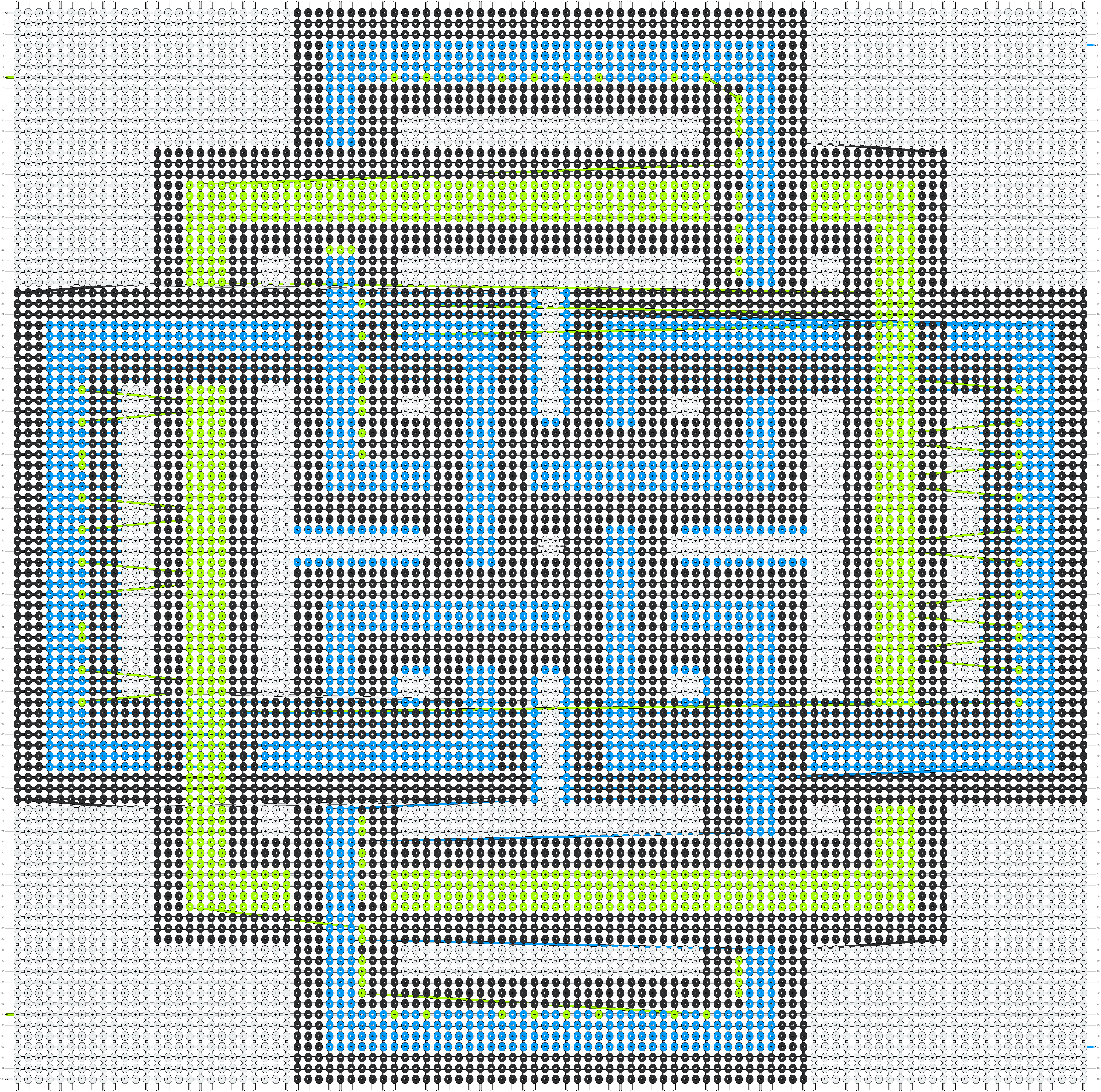 Alpha pattern #51412 pattern