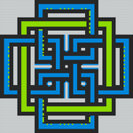 Alpha pattern #51412