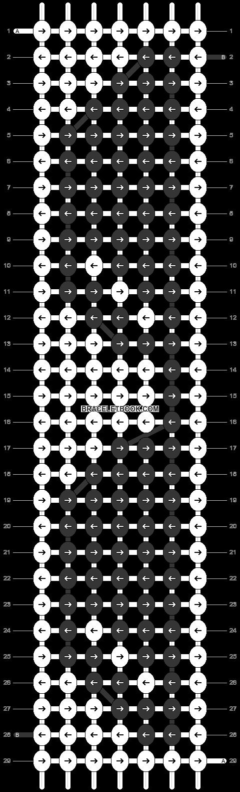 Alpha pattern #51448 pattern