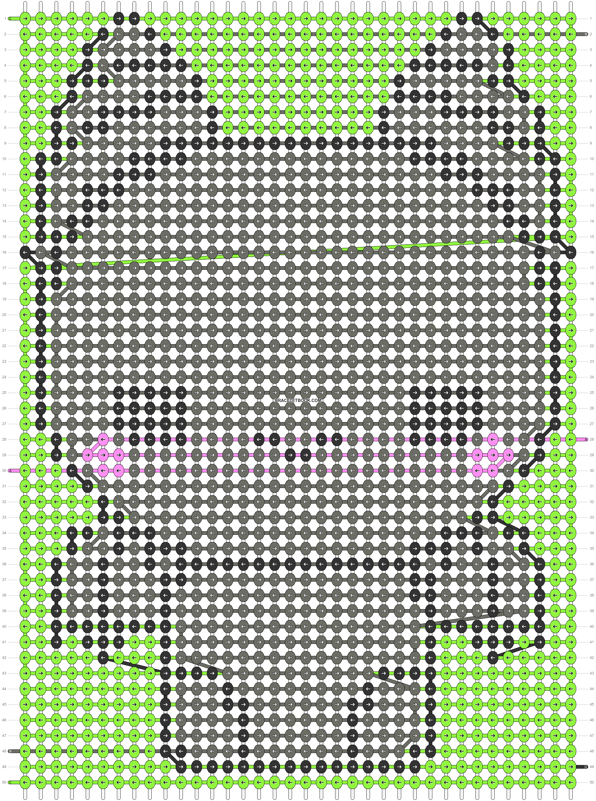 Alpha pattern #51453 pattern