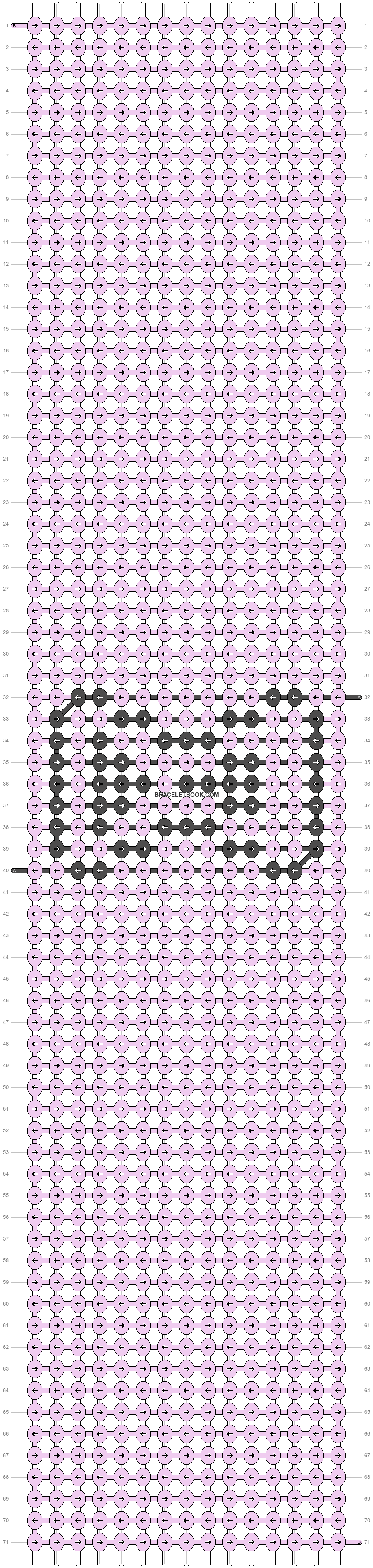 Alpha pattern #51467 pattern