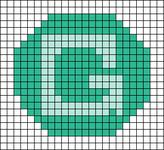 Alpha pattern #51470