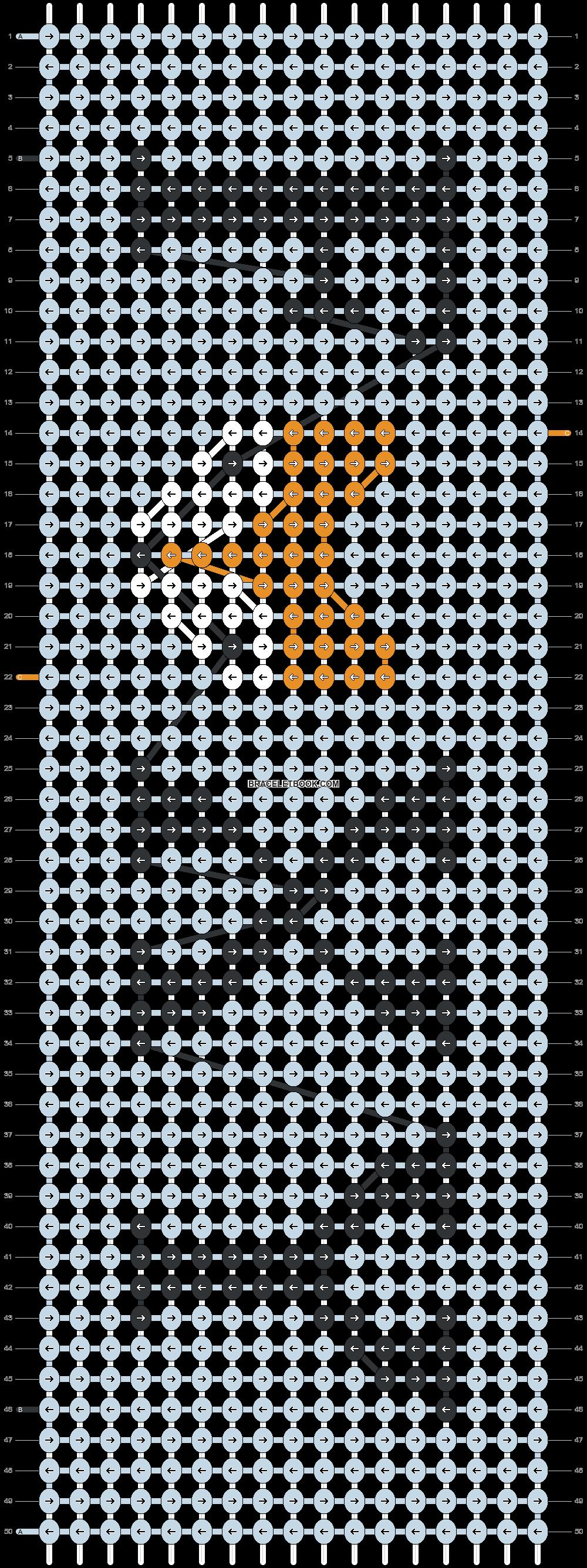 Alpha pattern #51501 pattern