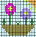 Alpha pattern #51552
