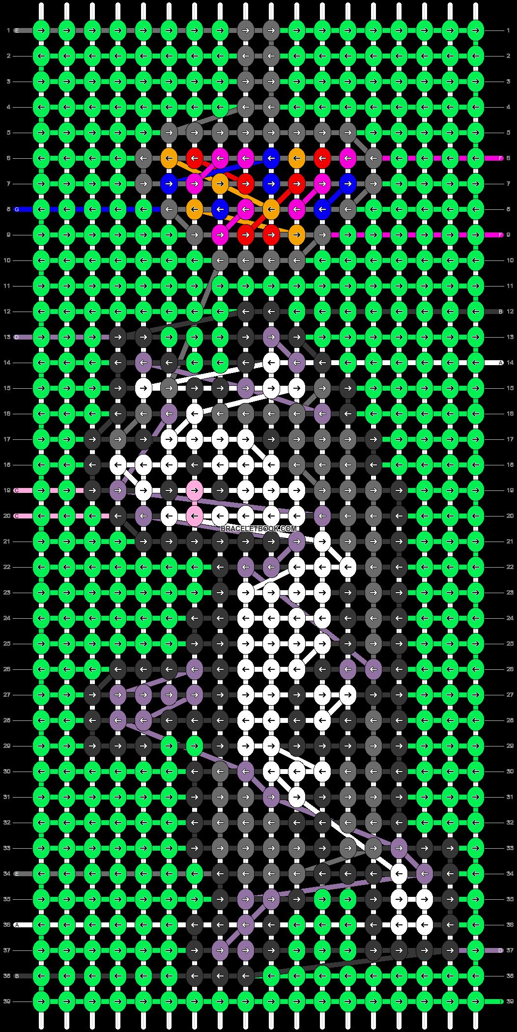 Alpha pattern #51553 pattern