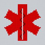 Alpha pattern #51554
