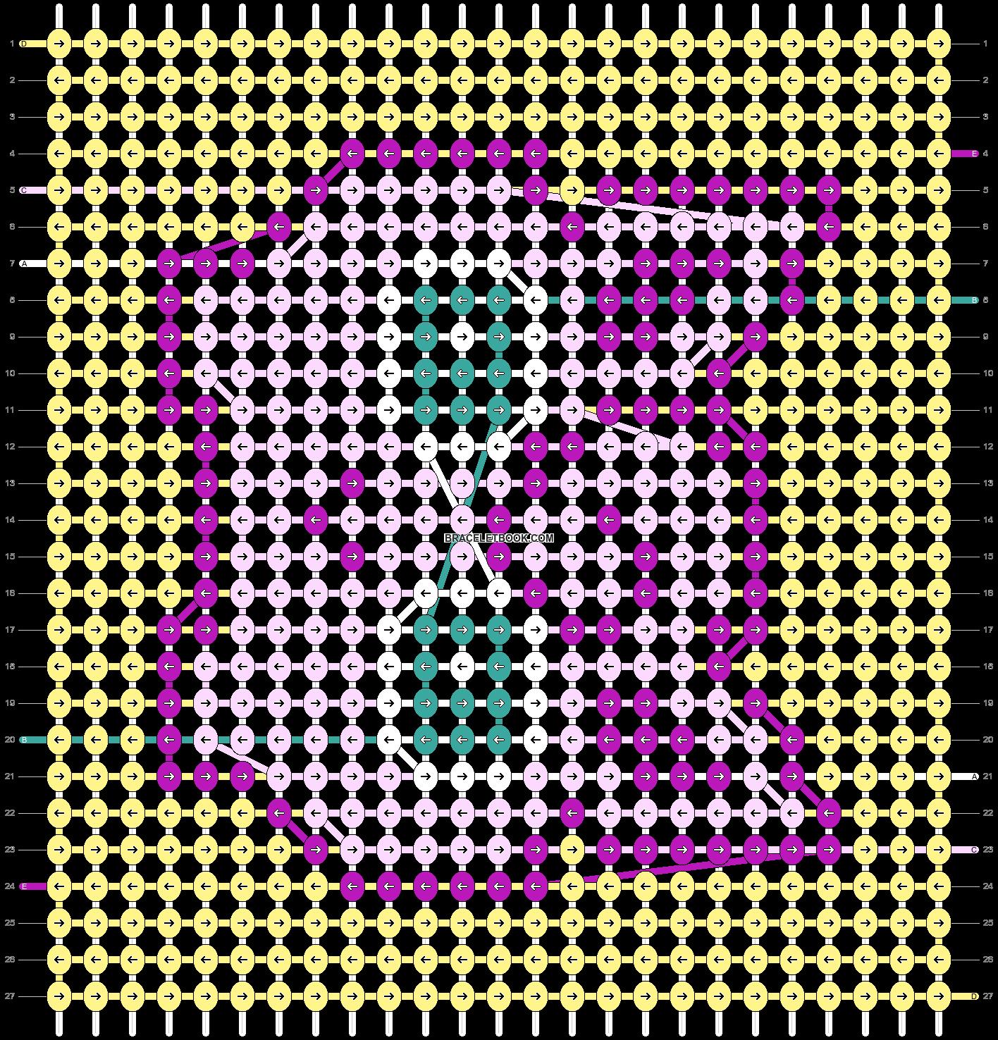 Alpha pattern #51580 pattern