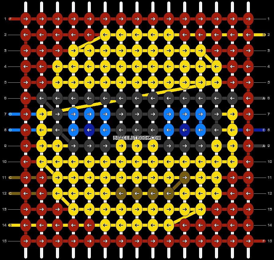 Alpha pattern #51587 pattern