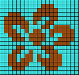 Alpha pattern #51598