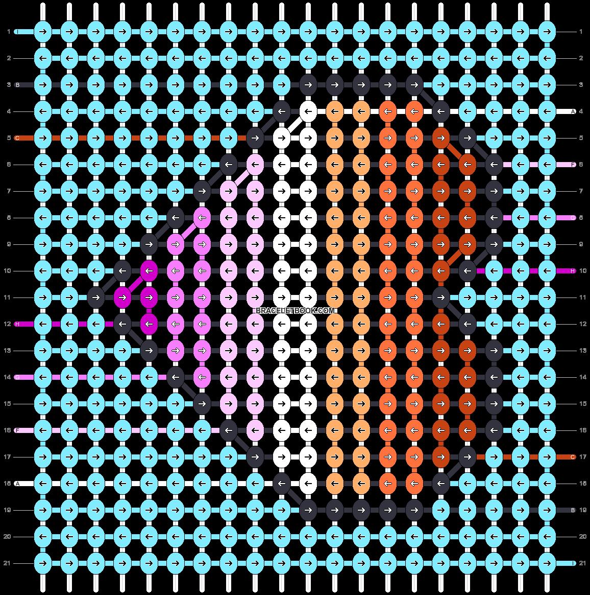 Alpha pattern #51611 pattern
