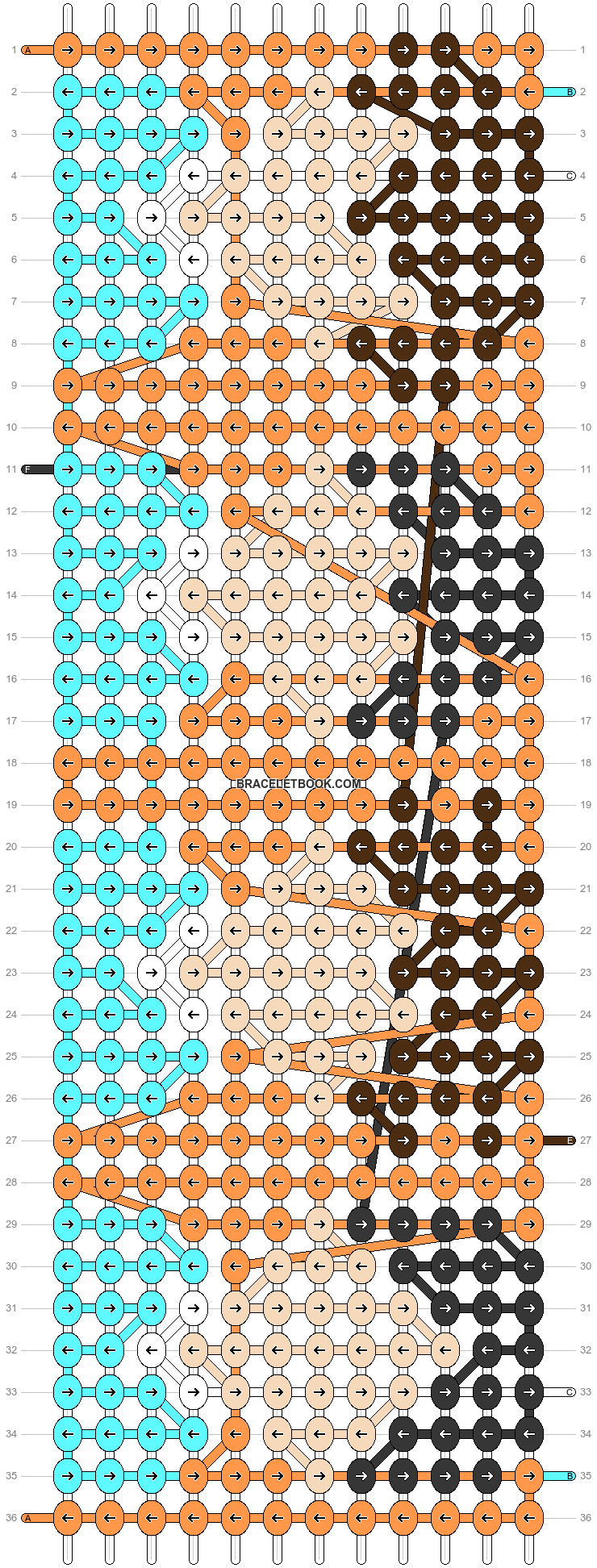 Alpha pattern #51619 pattern