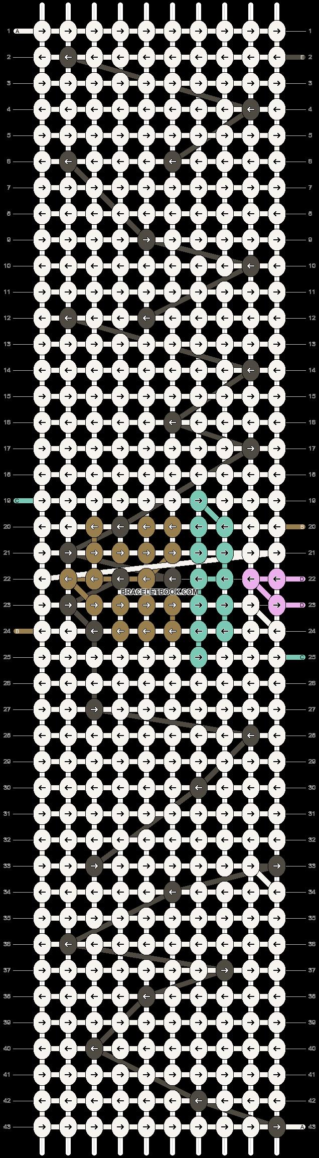 Alpha pattern #51637 pattern