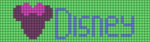 Alpha pattern #51659