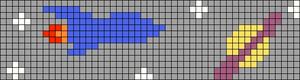 Alpha pattern #51696