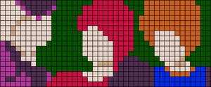 Alpha pattern #51702