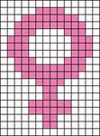 Alpha pattern #51705