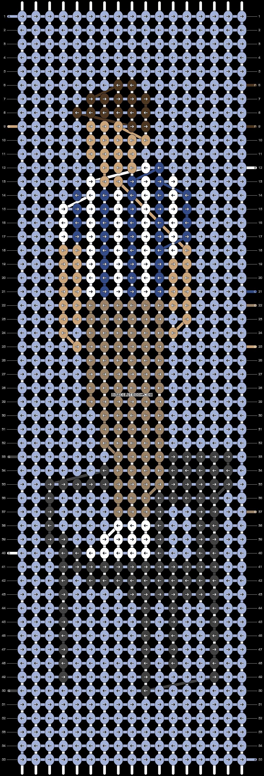 Alpha pattern #51710 pattern