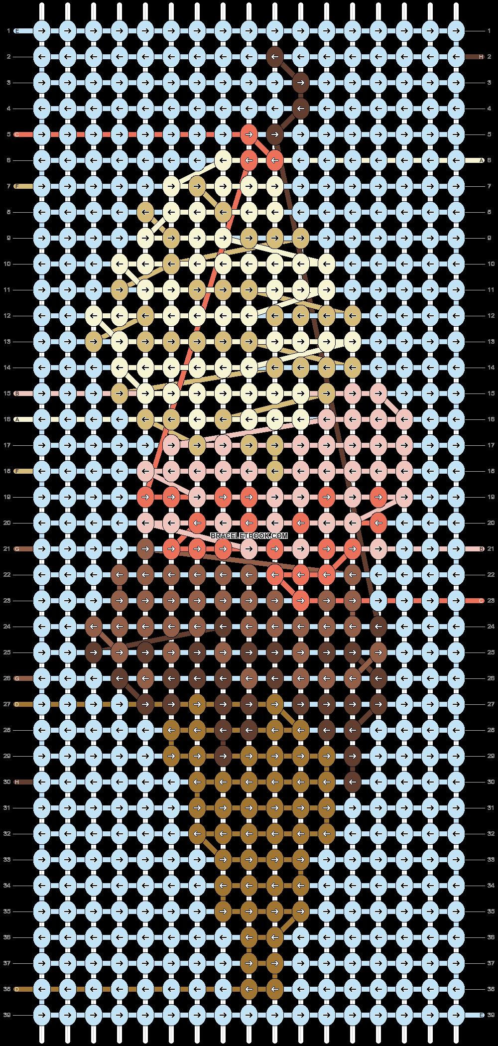 Alpha pattern #51719 pattern