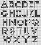 Alpha pattern #51739