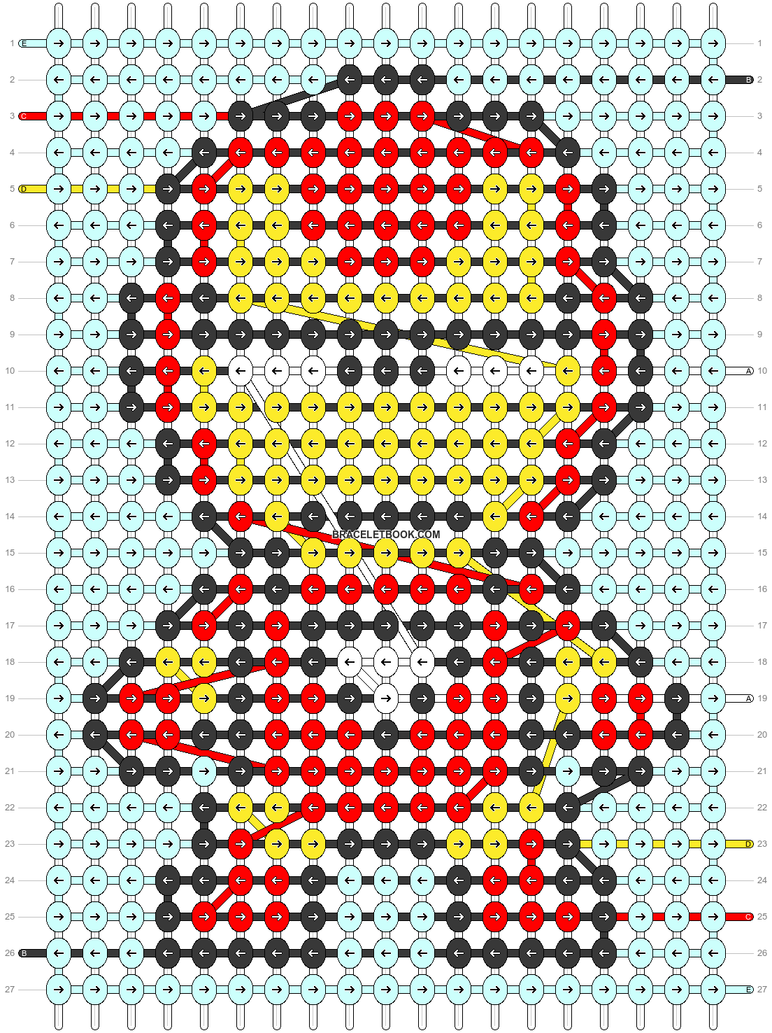 Alpha pattern #51753 pattern