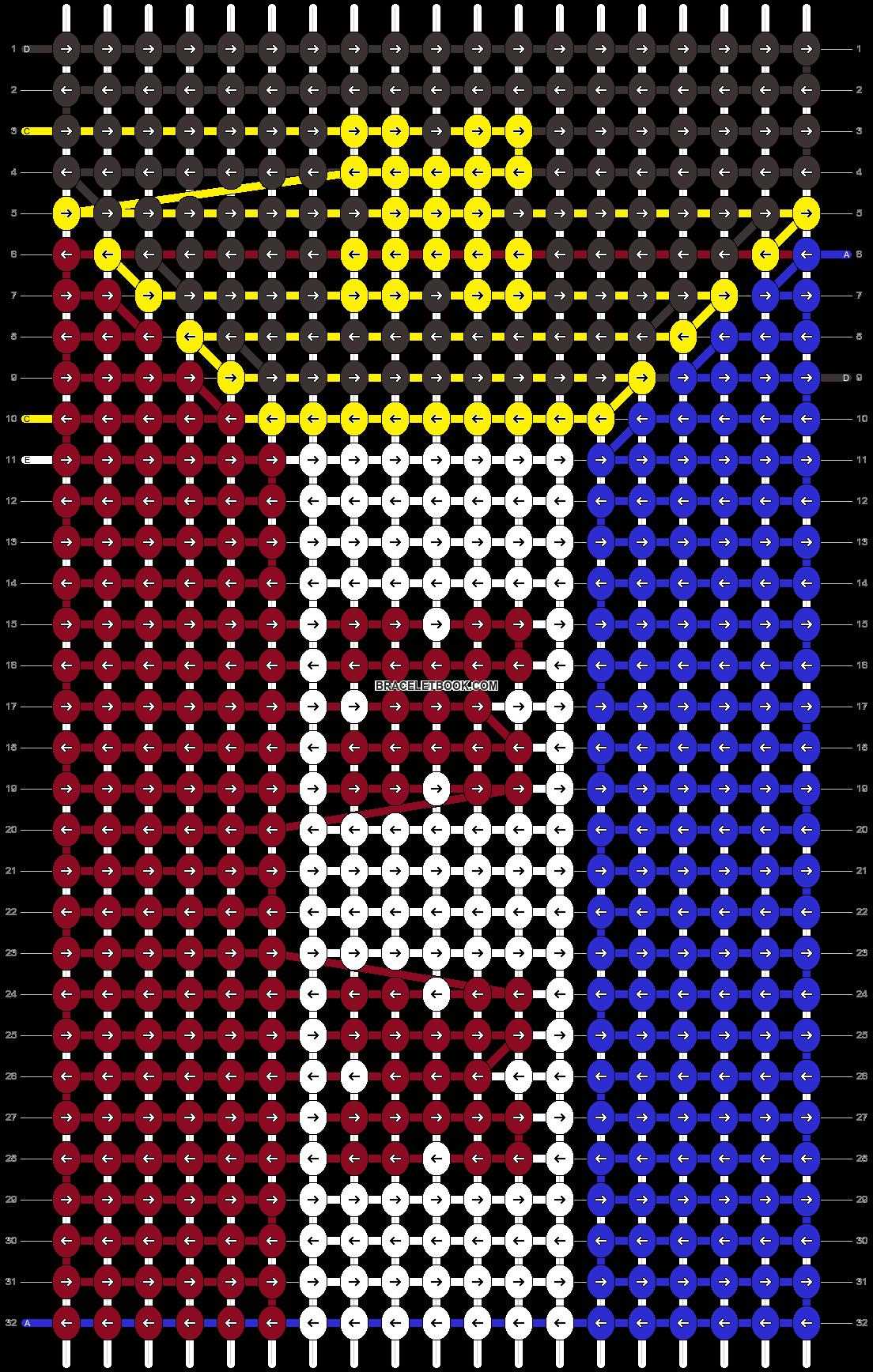 Alpha pattern #51756 pattern