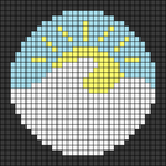 Alpha pattern #51768