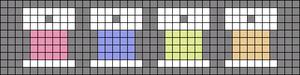Alpha pattern #51777