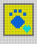 Alpha pattern #51783