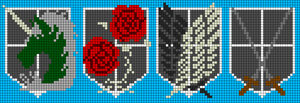 Alpha pattern #51818