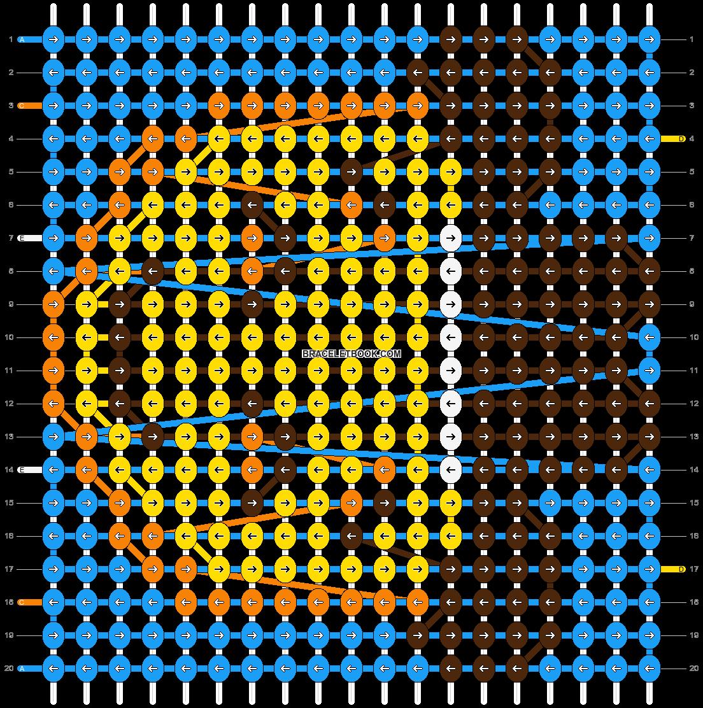 Alpha pattern #51819 pattern
