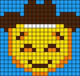 Alpha pattern #51819