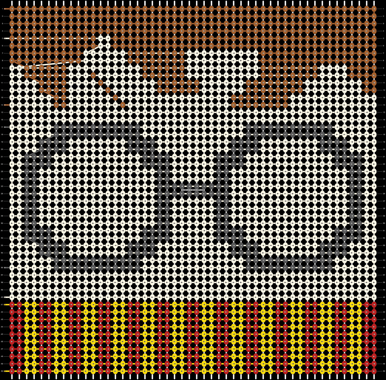 Alpha pattern #51843 pattern