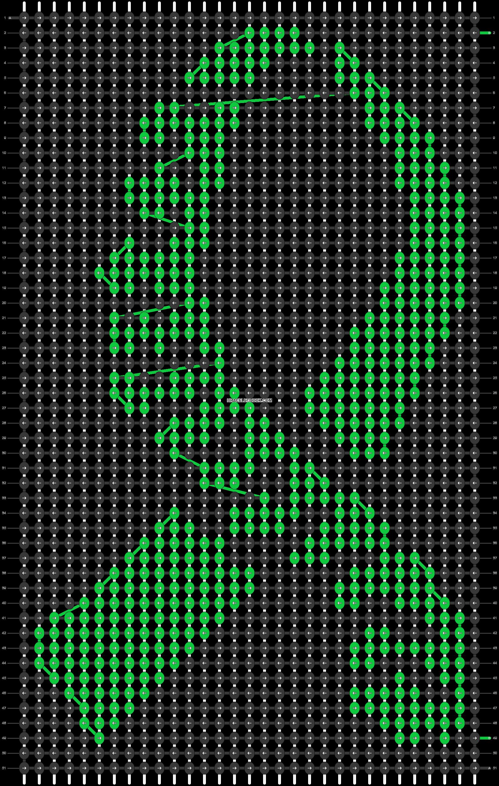 Alpha pattern #51871 pattern