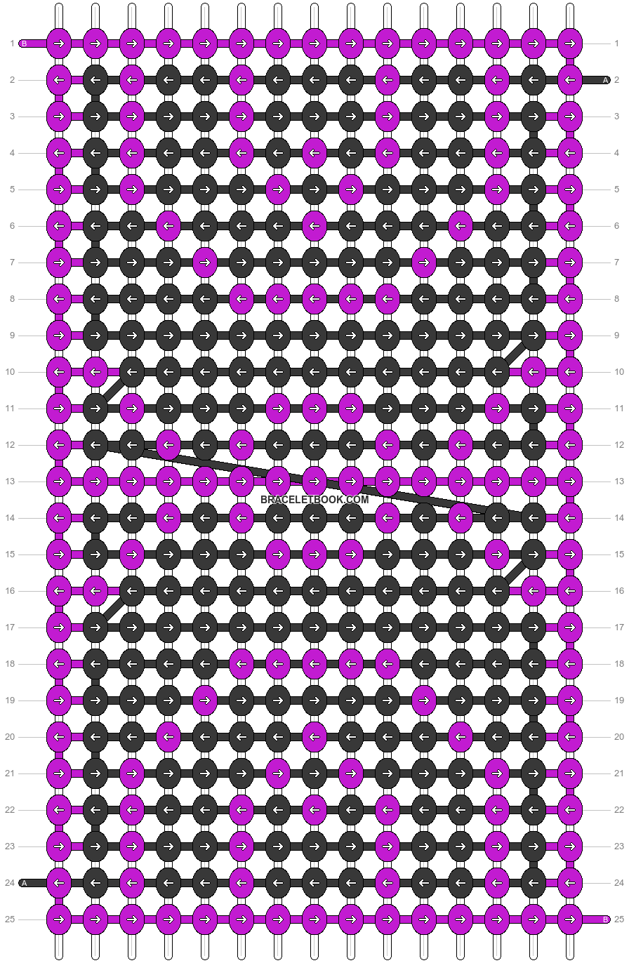 Alpha pattern #51938 pattern