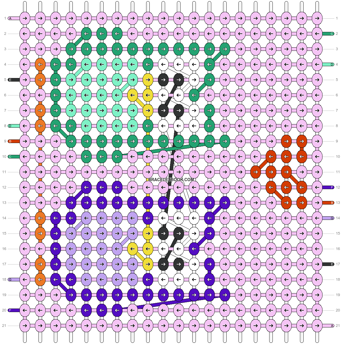 Alpha pattern #51957 pattern