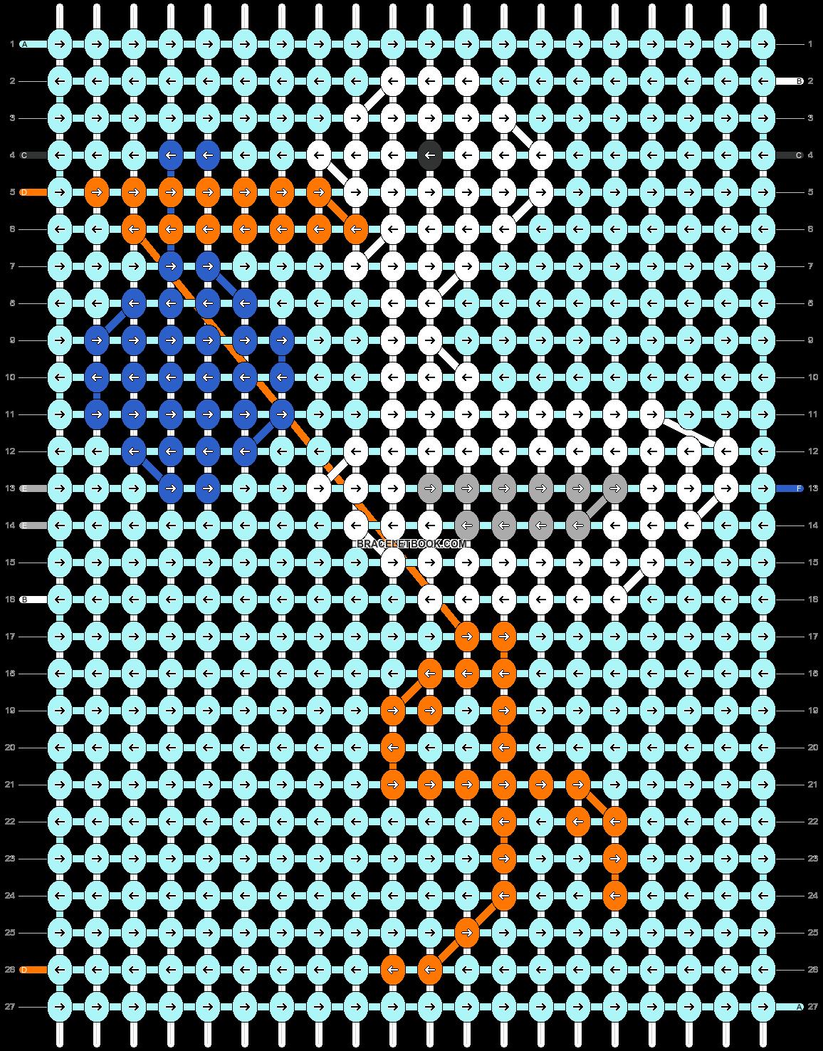 Alpha pattern #51958 pattern