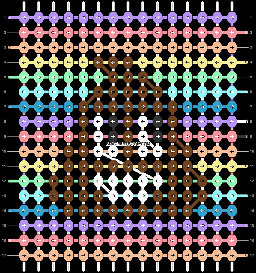 Alpha pattern #51959 pattern