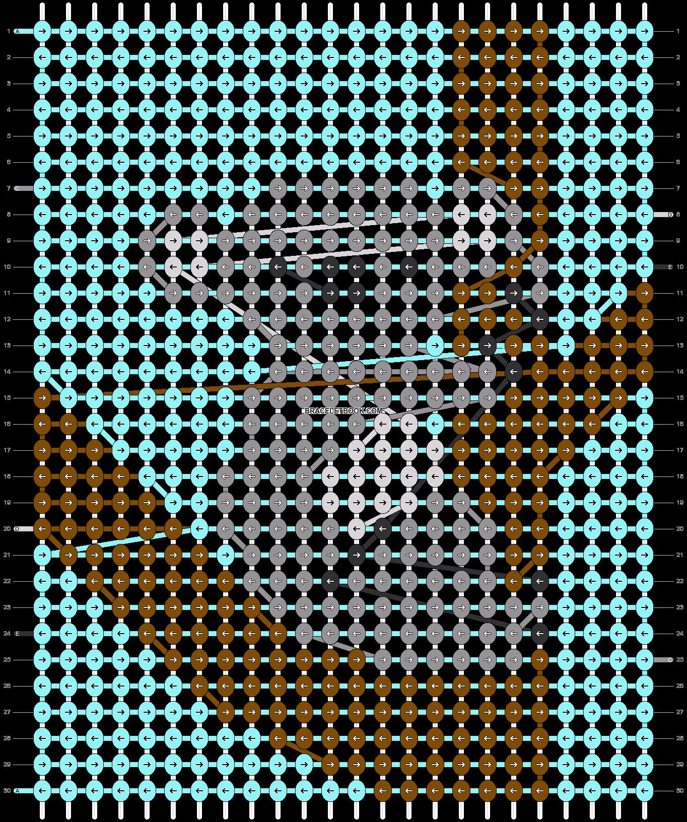 Alpha pattern #51960 pattern