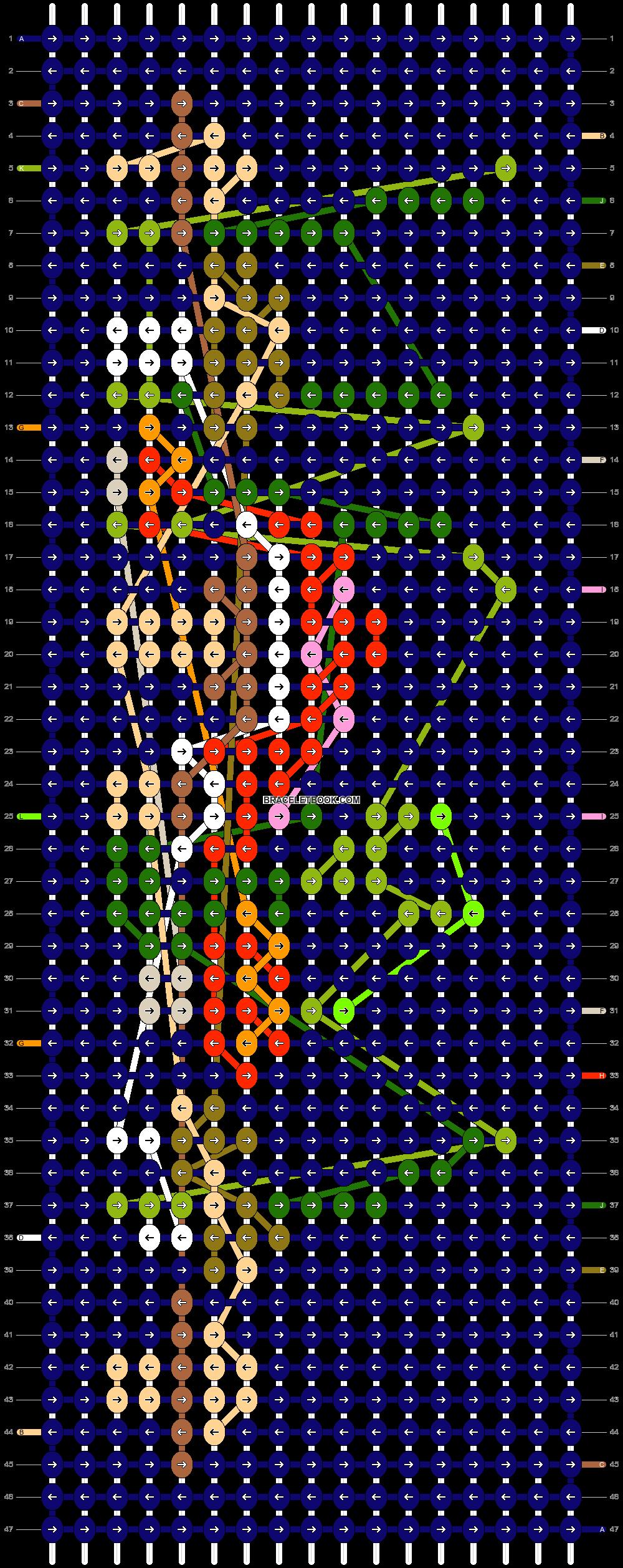 Alpha pattern #51972 pattern