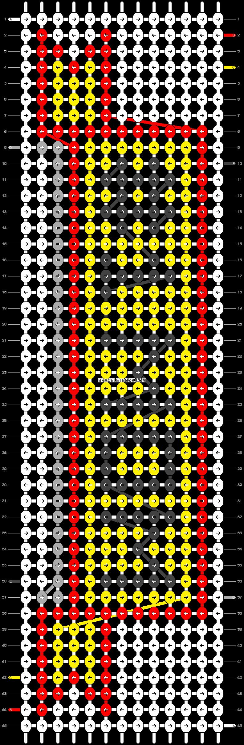 Alpha pattern #51982 pattern
