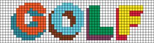 Alpha pattern #51997