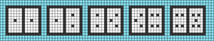 Alpha pattern #52001